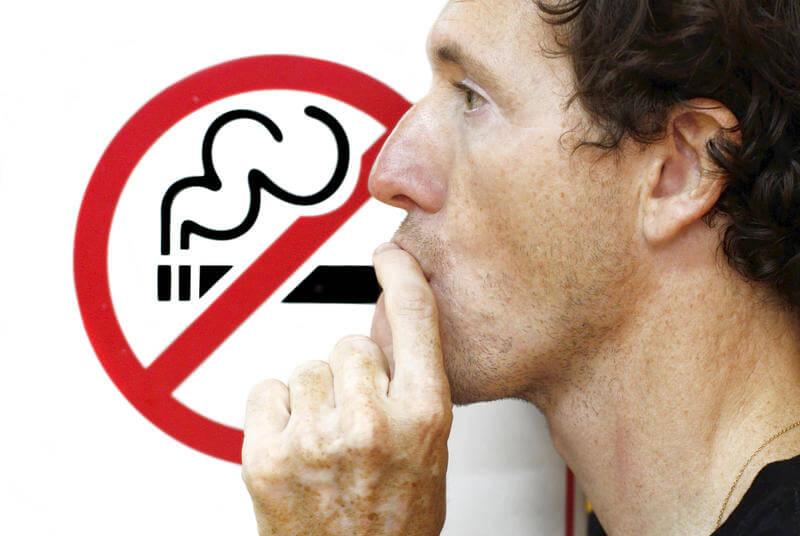 fumator tigare barbat lasat de fumat